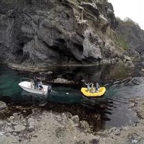 【周辺観光】青の洞窟探検ツアー