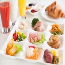 「ポップ」朝食ブッフェイメージ