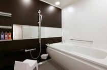 禁煙和洋室50平米Aタイプ 浴室一例(お部屋のタイプはお選びいただけません。予めご了承ください。)