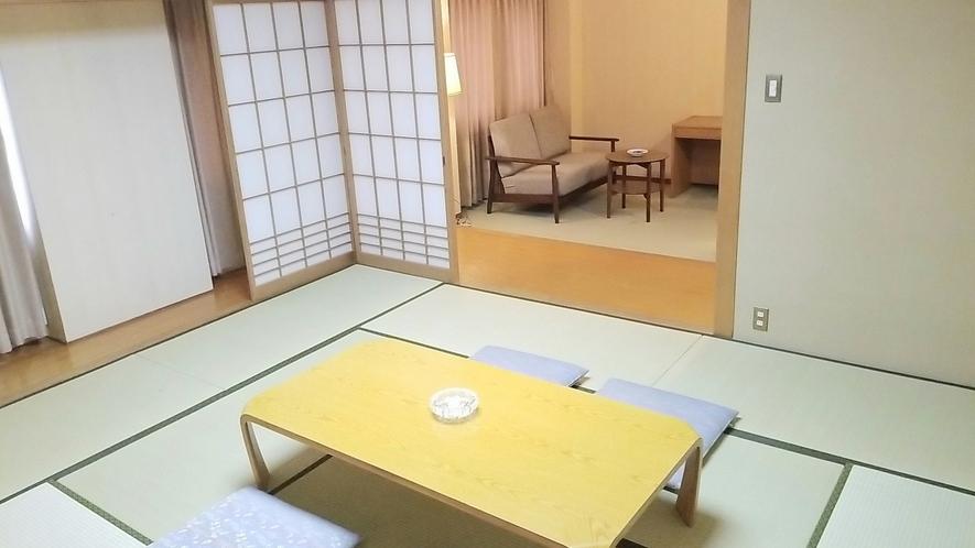 10畳和室+16平米の前室付き