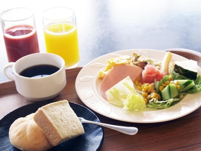 もりもり元気に朝食バイキング