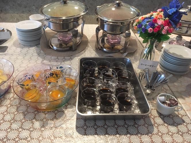 朝食 日替わりデザート