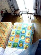 客室例:別館ロフト付ツイン