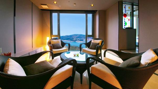 海側最上階◆特別室◆〜至高の贅空間〜<展望風呂付客室>
