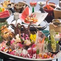 【お正月限定料理】伊勢志摩の食材を生かしたお正月限定会席写真は5人盛り※料理写真はイメージです