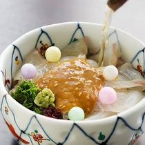【朝食:鯛茶漬け】