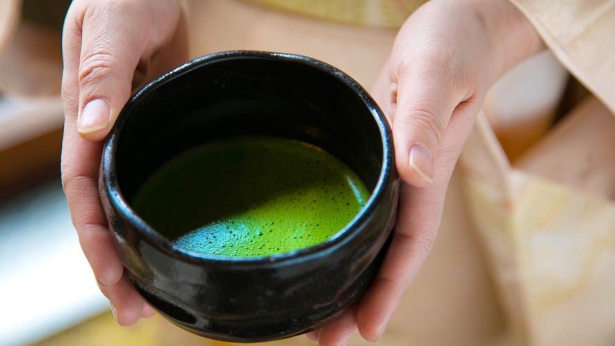 【お抹茶】