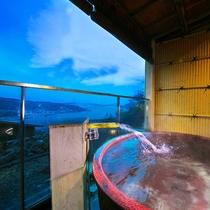 【海側<露天風呂付き>和室】露天風呂