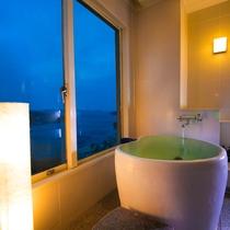 【海側<絶景展望風呂付き>和室】展望風呂