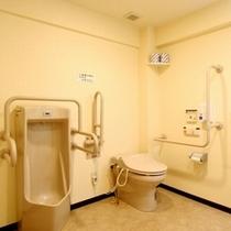 【館内設備】ユニバーサルデザインのトイレ