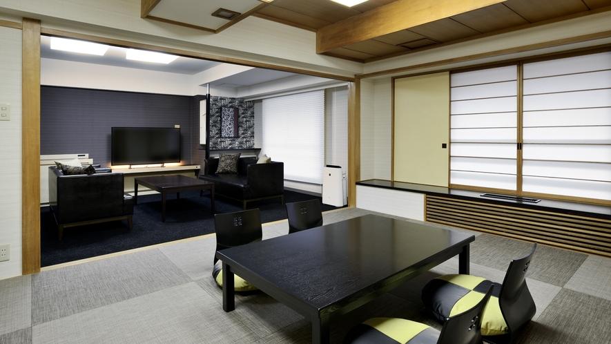 【客室】プレミアム ジャパニーズ スイート(限定1室)