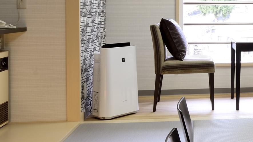 【客室】加湿空気清浄機(全客室設置)