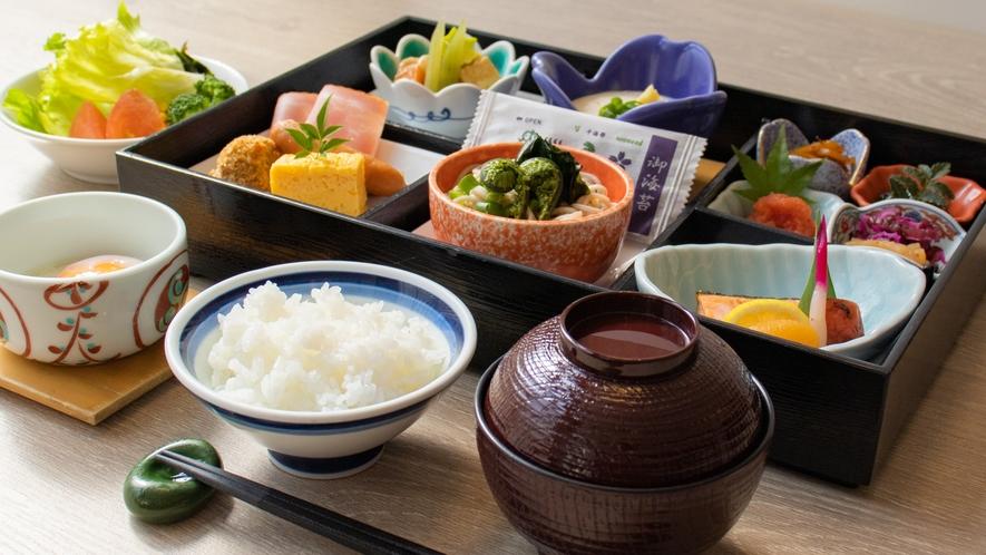 【ご朝食】セットメニュー(イメージ)