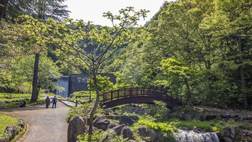 【周辺観光】滝沢公園/ホテルから徒歩約5分の癒しスポット。