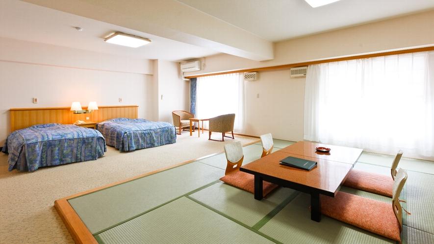 【客室】秋桜/バリアフリー和洋室