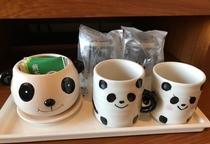 パンダルームはカップも可愛い!