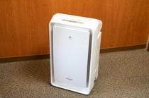 加湿空気清浄機全客室完備