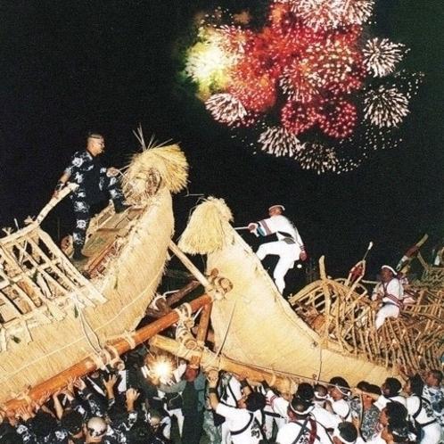 横手市『送り盆祭り』8月開催