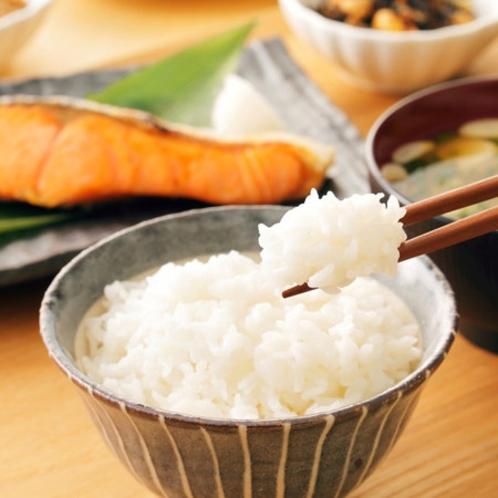 朝食『秋田横手産あきたこまち』