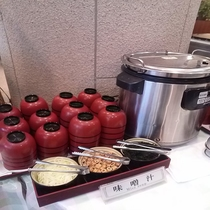 朝食(お味噌汁)