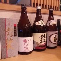 地元秋田の地酒 各種取り揃えています。