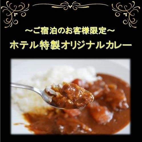ご宿泊者様限定カレー無料サービス(18:00~20:30)