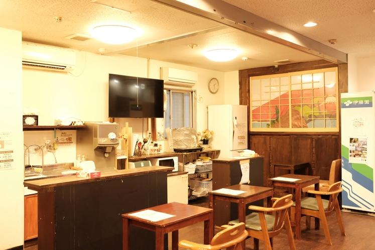 ホテル来山の共有キッチン