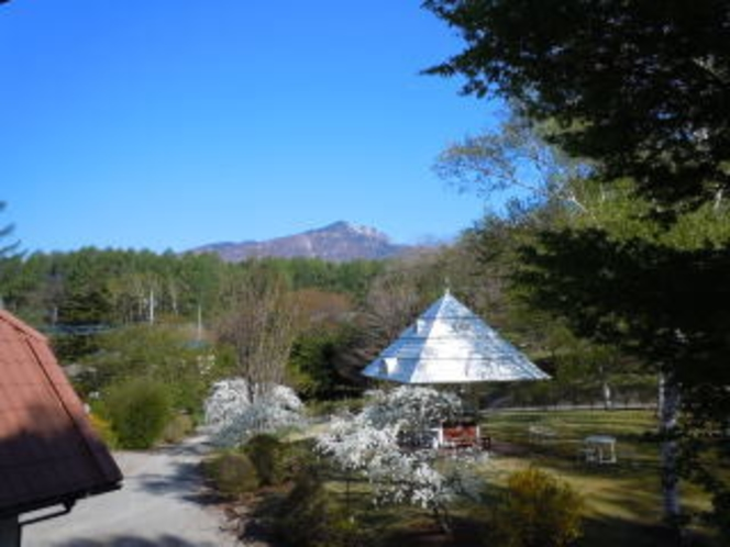 コーナースイートルームから八ヶ岳