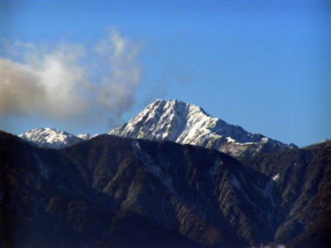 11月北岳