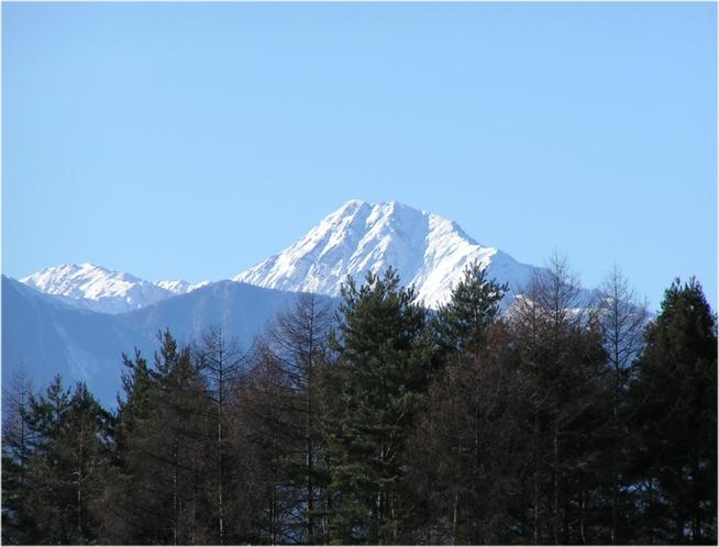 日本第2の明峰北岳