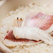 *【夕食一例】鯛の混ぜご飯
