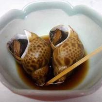 *付き出し:つぶ貝