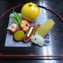 *料理一例冬の前菜