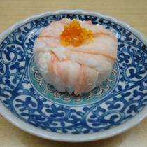 *料理一例:かに寿司