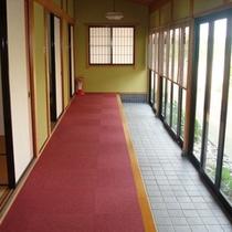 *館内一例:廊下