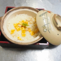 【もろこし御飯】ブランドトウモロコシを使用