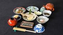 *【朝食一例】朝から手作りの和食をお腹いっぱいお召し上がりください!