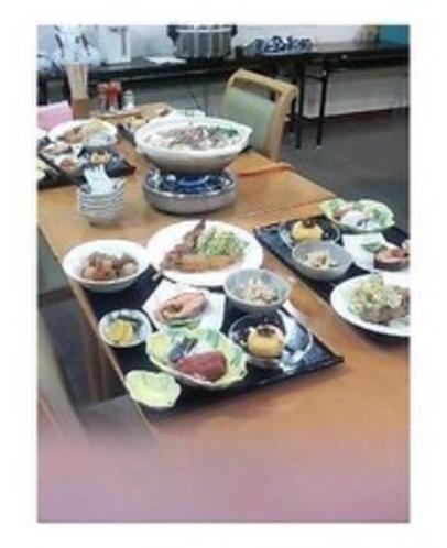 鍋の有る夕食