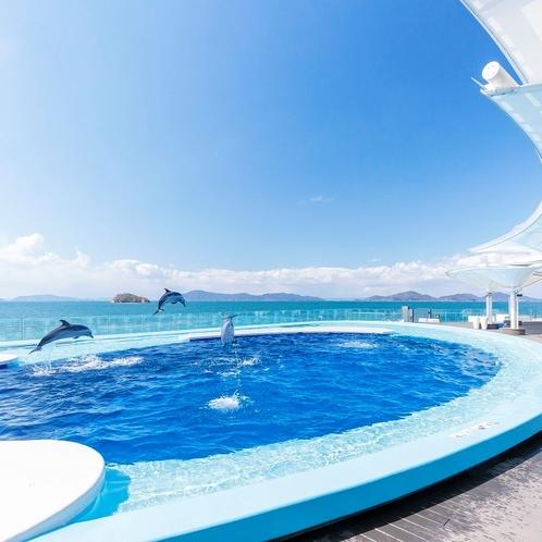 四国水族館「海豚プール」