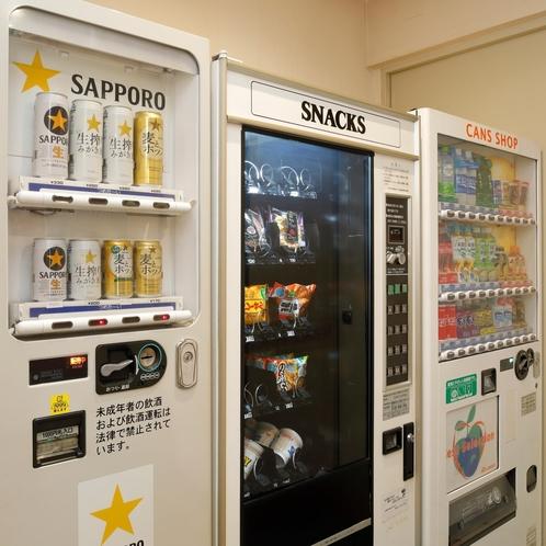 1F自動販売機コーナー