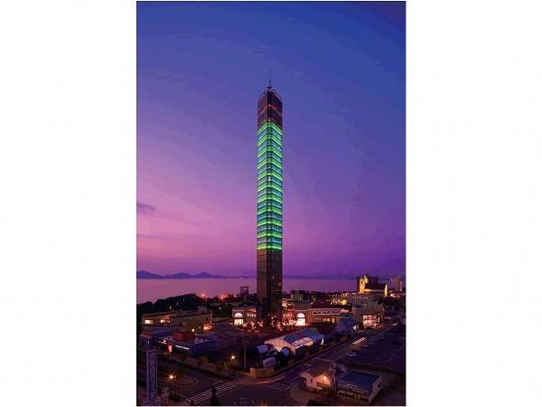 ゴールドタワー(夜)