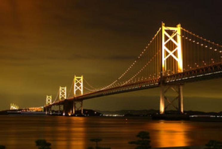 瀬戸大橋夜