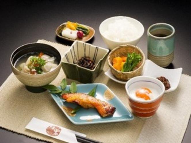【朝食】和食の定食