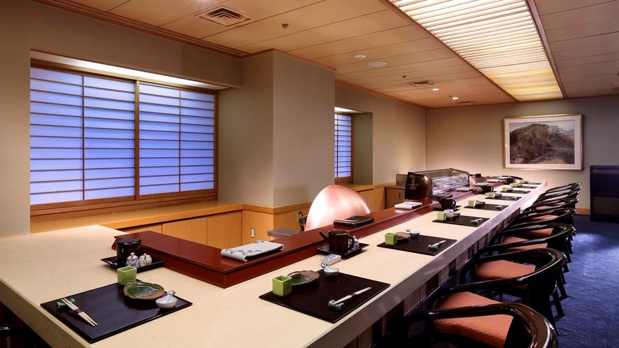5階 日本料理「源氏香」|天婦羅カウンター「松風」