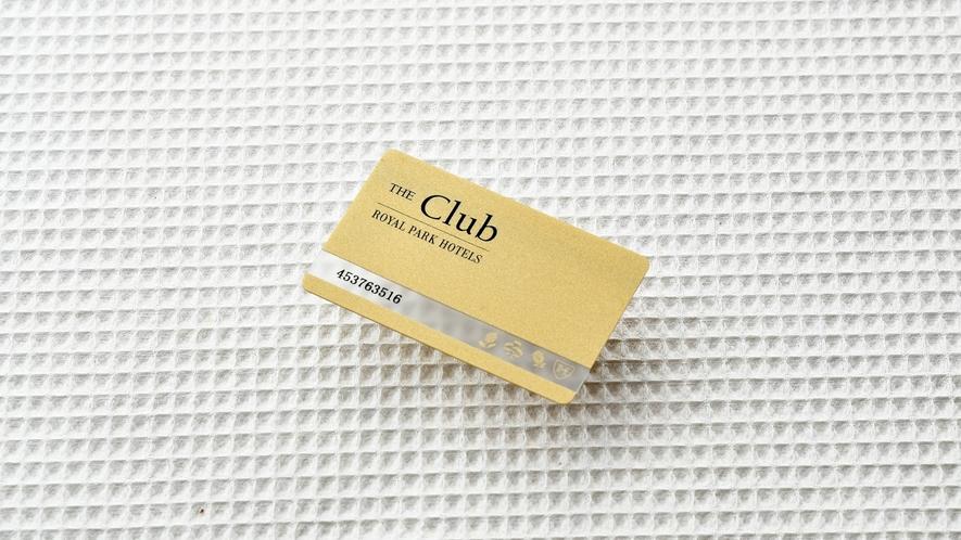「ザ クラ全国のロイヤルパークホテルズでご利用いただけるメンバーズカードです。