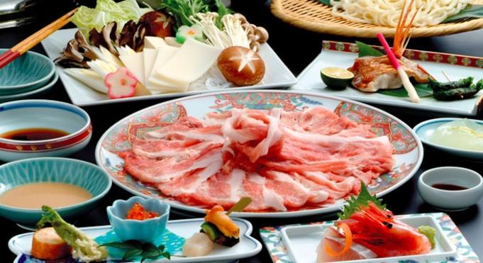 【朝食・夕食付き】和豚もちぶた しゃぶしゃぶプラン、家族旅行にぴったり♪