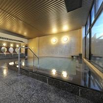 *大浴場月みかげの湯・開運茶室露天風呂/低温アロマサウナやジェットバス完備。