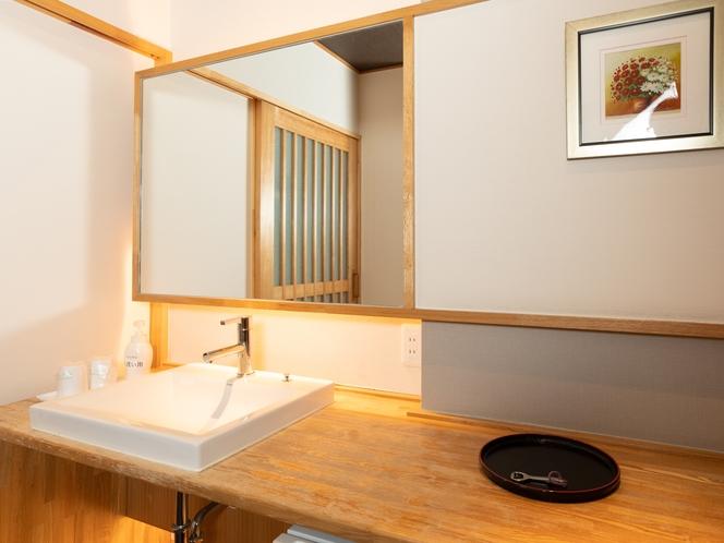 和洋室二人部屋 洗面所