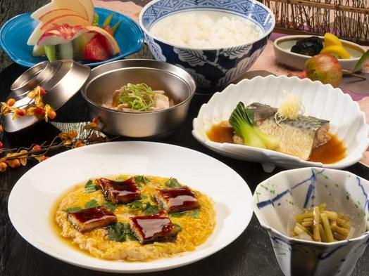 【お部屋食】丼シリーズ、お夕食は「鰻の玉子とき」