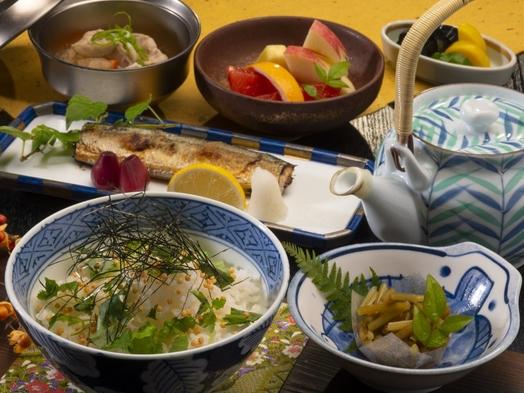【お部屋食】丼シリーズ、お夕食は「かつお出汁で【お茶漬け】」